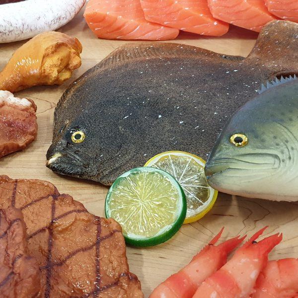 afbeelding van Decoratief Vis & Vlees